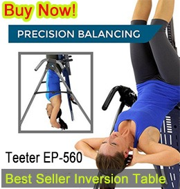 teeter inversion table ep 560 review