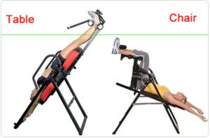 Choose Inversion Chairs or Inversion Tables