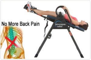 Best back stretcher inversion table review