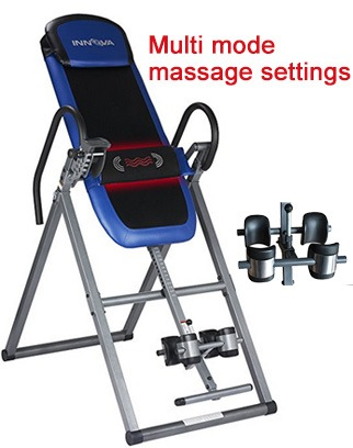 inversion table with heat and massage review