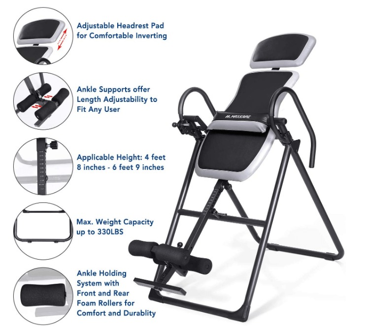 best inversion table for back pain under 150
