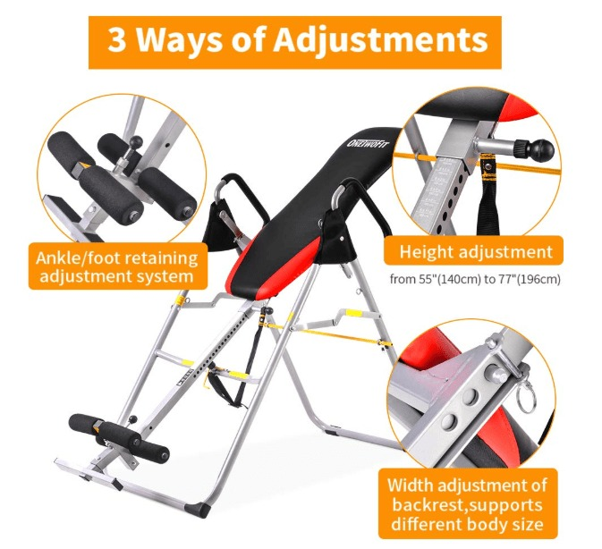 best folding inversion table