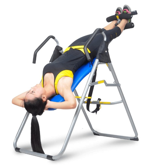 how to use an inversion therapy table