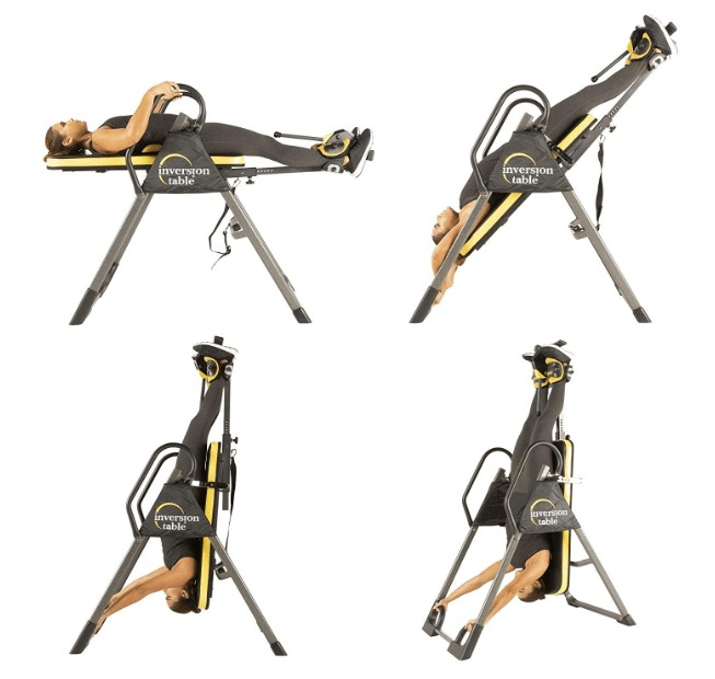 best ironman inversion table