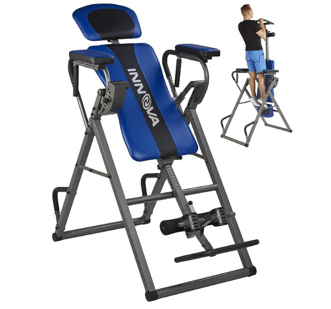 best elite fitness deluxe inversion system