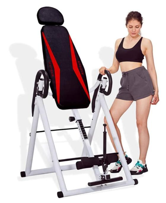 cheap 350lbs inversion table